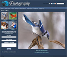 Photography Website Screenshot