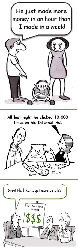pay per click revenue