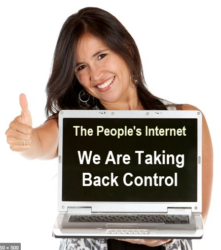 Taking Back Control Of The Interent