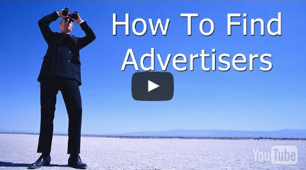 finding advertiser