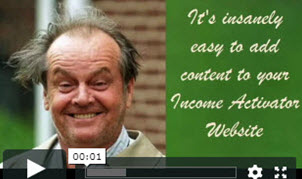 how to add content to website