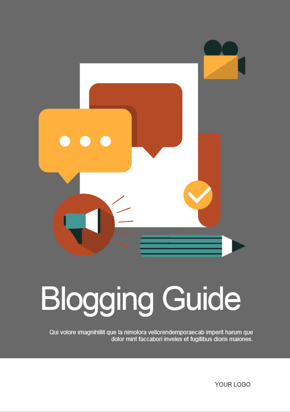 blogging ebook template