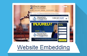 website embedding