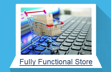 fully functional online store
