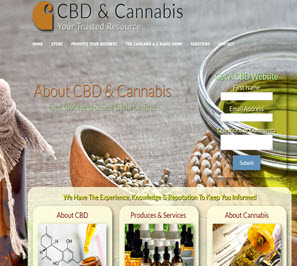Free CBD Cannabis Website