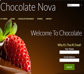 free chocolate website