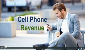 cell phone revenue