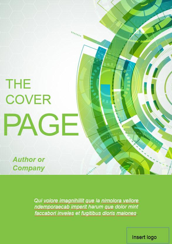 green theme ebook