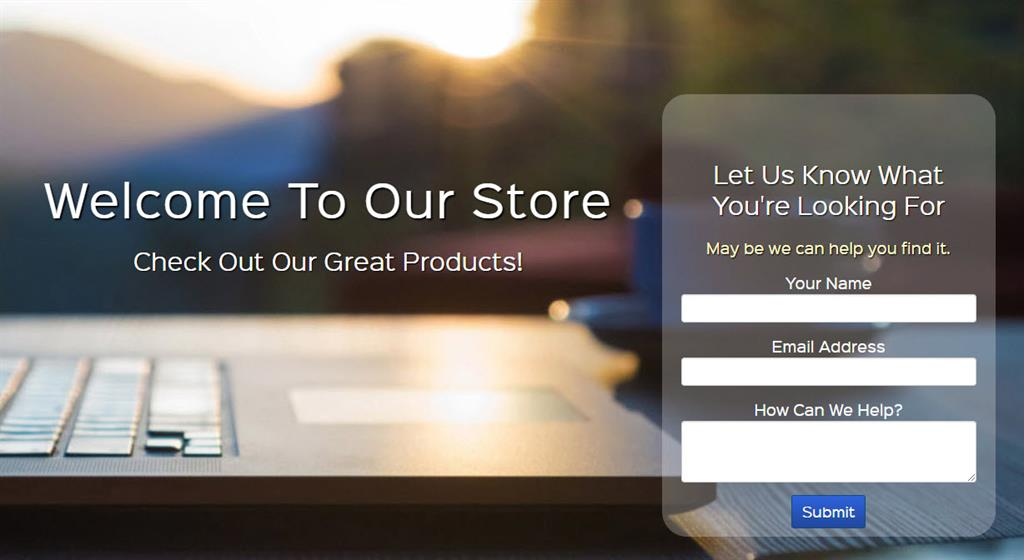 Income Activator store example
