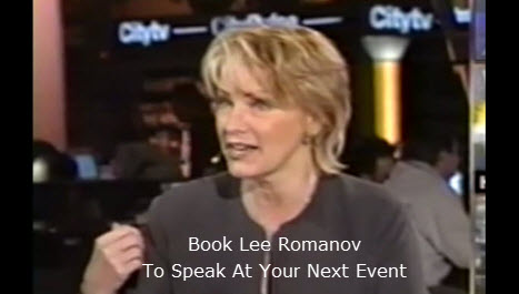 lee romanov speaker TV personality