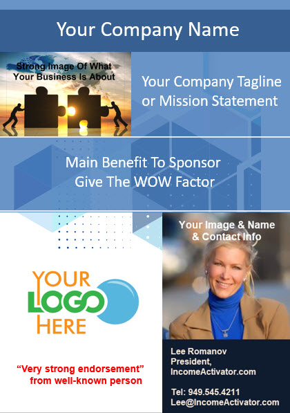 lee sponsor example template