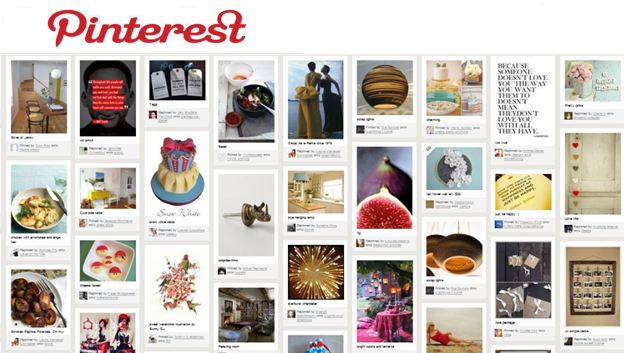 Pinterest Hub website