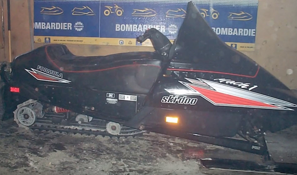 snowmobile for house