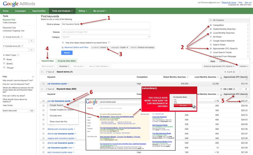 How to find Cost Per Click Advertsier