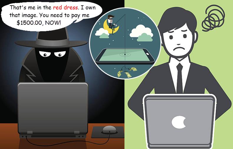 copyright scams