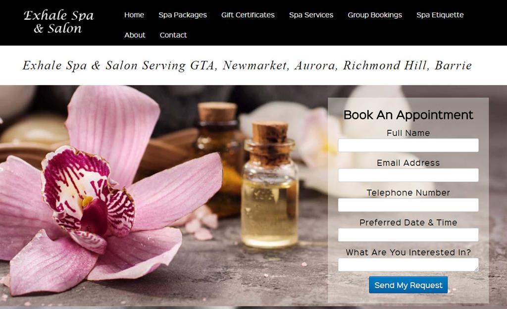 income activator spa website design