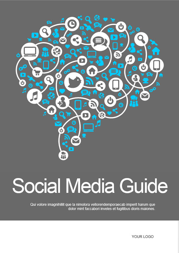 social media ebook template