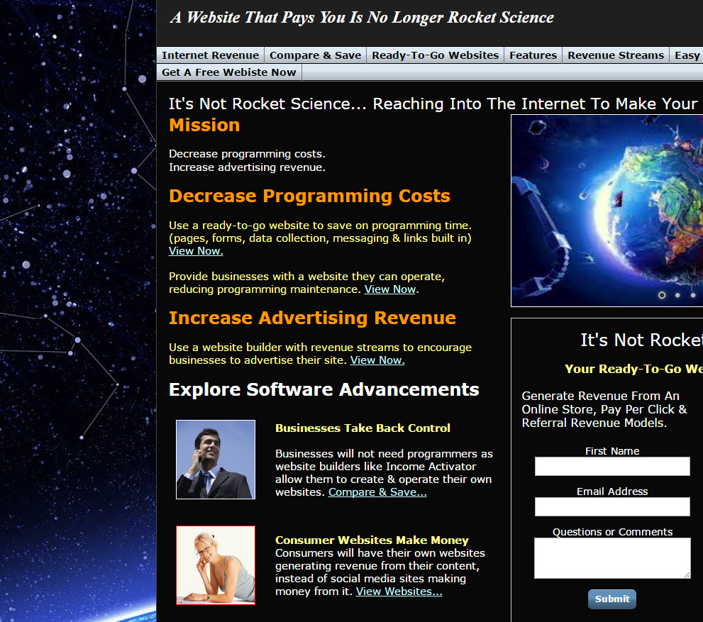 free website Rocket Science