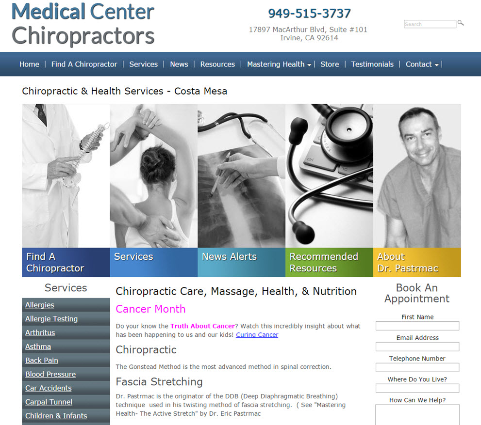 free website Chiropractor