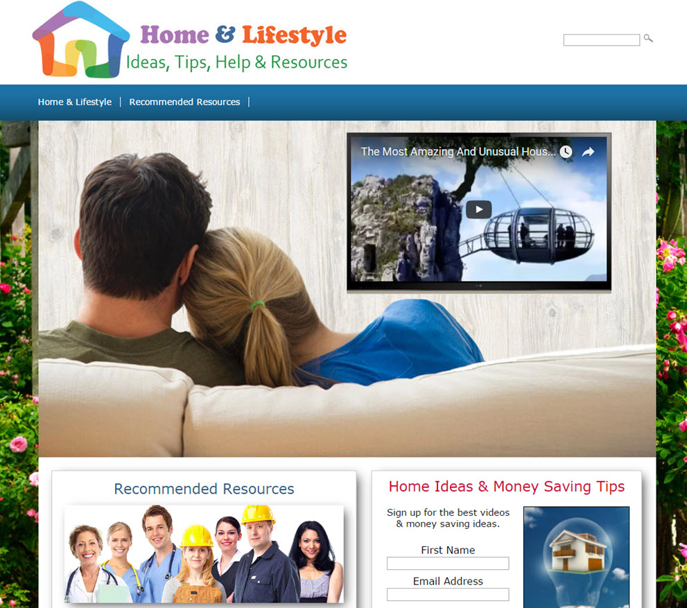 free website home renovations